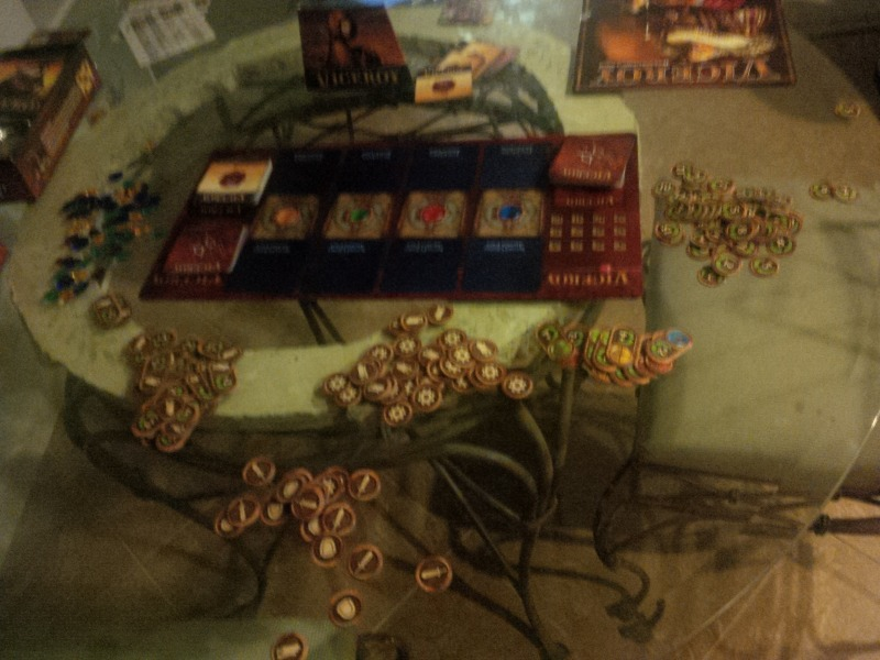 The components of Viceroy, before any pyramid-building.