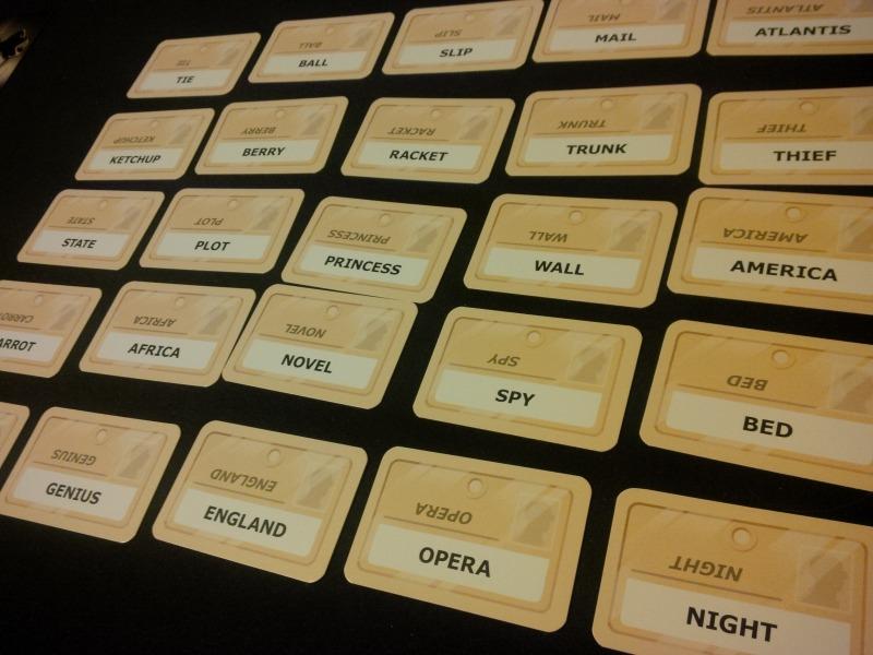 Codenames.