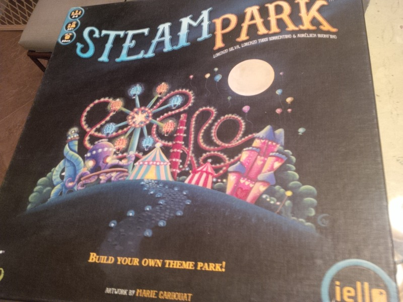 The Steam Park box.