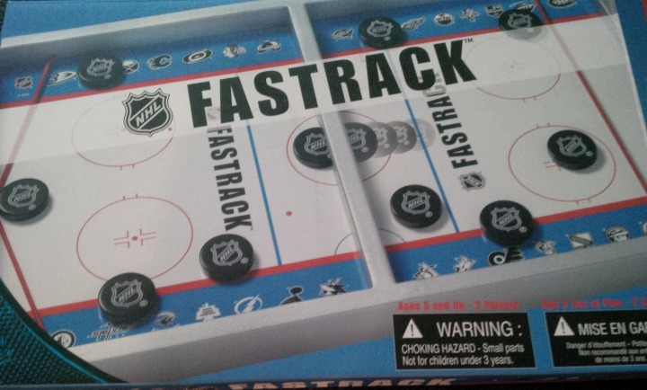 What the NHL Fastrack box looks like.