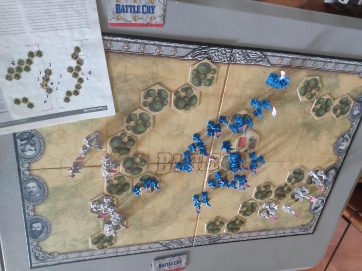 Chancellorsville scenario setup
